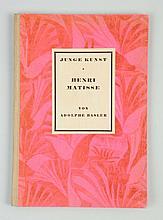 1924 Henri Matisse Art Book - Adolphe Basler.