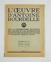 1920s Antoine Bourdelle Art Folio.