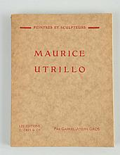 1920s French Maurice Utrillo Art Book.