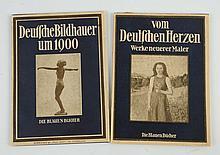 Lot of 2: 1925 German Blue Book Art Books.
