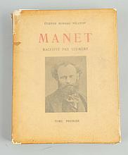 1926 Manet Raconte' Par Lui-Même Volume One.