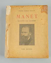 1926 Manet Raconte' Par Lui-Même Volume Two.