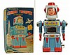 Tin Litho Wind-Up Chime Trooper.
