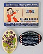 Lot of 3: Small Barber Shop Advertising Pieces.