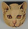 1930's Coca-Cola German Made Cat Pocket Mirror.