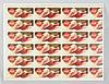 Uncut 1953 Coca-Cola Blotter Sheet.