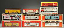 Lot of 10: Assorted Mostly Advertising Box Cars.