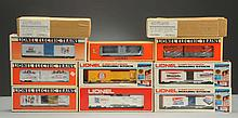 Lot of 10: Lionel Assorted Advertising Cars.