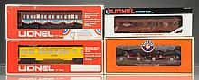 Lionel 9528 Truman Campaign Car & 3 Other Pieces.