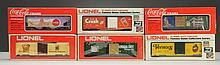 Lot of 6: MPC Era & K-Line Advertising Cars.