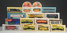 Large Lot Of Assorted Trains w/ Boxes.