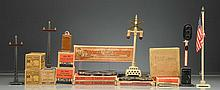 Lot of 13: Assorted Lionel Accessories.