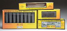 Lot of 8: MTH Rolling Stock & Accessories.