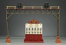 Lionel 440 Signal Bridge with 439 Panel Board.