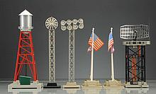 Assortment of Lionel Post War Accessories.