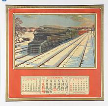 1940 PA Serving The Nation Calendar.