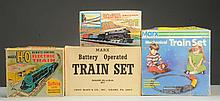 Lot of 4: Marx Train Sets.