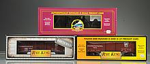 Lot of 3: MTH Rolling Stock.