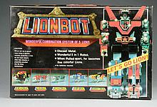 Diecast Lionbot Robot Space Toy.