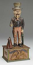Sephard Hardware Uncle Sam Mechanical Bank.