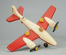 Wooden Playskool Airplane.