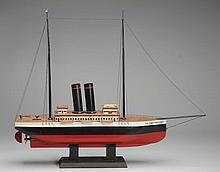 Wooden Model S. S. Philadelphia Boat.