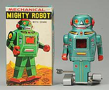 SY Mechanical Mighty Robot With Spark.