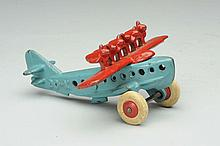 Cast Iron Hubley DO-X Airplane.