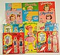 Lot of 11: Stand-Up & Magnetic Paper Dolls.