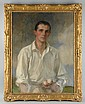 James Jebusa Shannon Tennis Player Portrait.