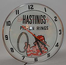 Hasting Piston Rings Clock.