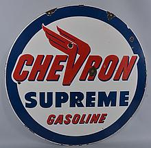 Chevron Sign.