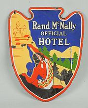 Rand McNally Sign.