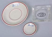 Lot of 3: Billups Items.