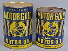 Lot of 2: Motor Guard Motor Oil & Filter.
