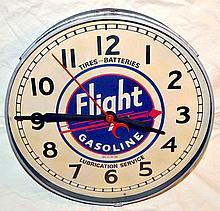 Flight Gasoline Clock.