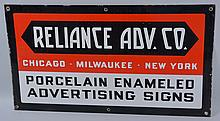 Reliance Adv. Co. Sign.