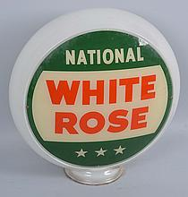 National White Rose Lens.
