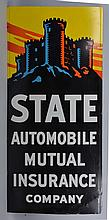 State Automobile Mutual Insurance Company Sign.