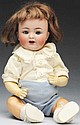 Flirty German Bisque Baby Doll.