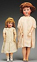 Lot of 2: Japanese Bisque Dolls.