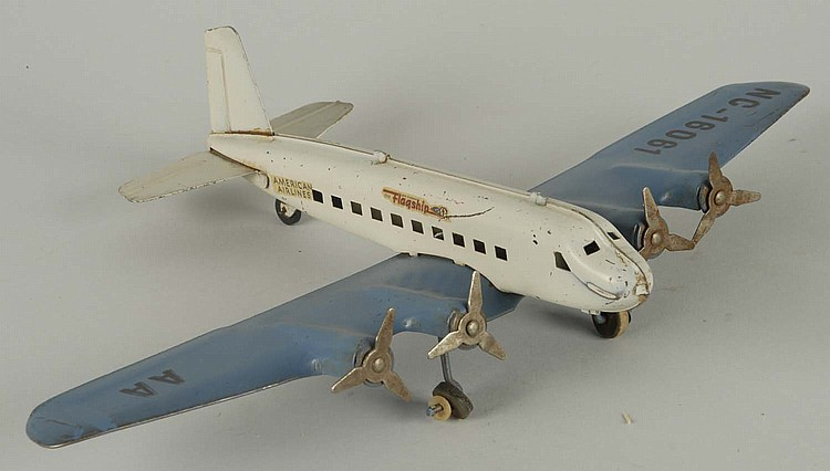 Wyandotte Pressed Steel Flagship Airplane.
