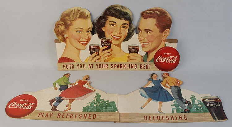 1957 Coca-Cola Square Dance Festoon.