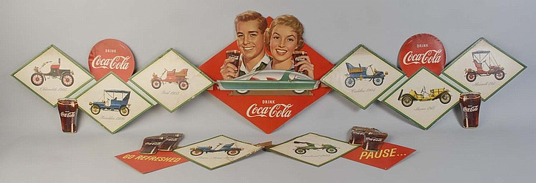 1957 Coca-Cola Car Festoon.