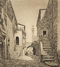 John Taylor Arms - Old Courtyard, Italy