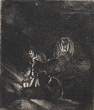 Rembrandt - Flight into Egypt: A Night Piece