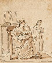 Unknown - Mother with Children (desc.)