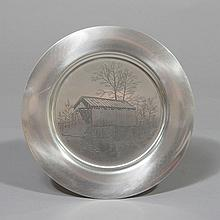 **Plate** Darell Koons - A Country Covered Bridge