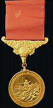 * U.S.A., Treasury Gold Life Saving Medal, awarded