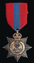 * Imperial Service Order, Edward VII, by Elkington